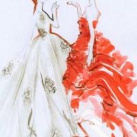 Dior Haute Couture Sketches