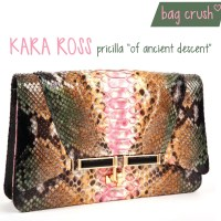 Bag Crush: Kara Ross pricilla 'of ancient descent' vs. Kara Ross itty bitty trinity 'rio, triad'