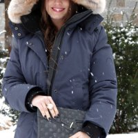 The Warmest Winter Coat Ever! {Canadian Outwear Designer CMFR}