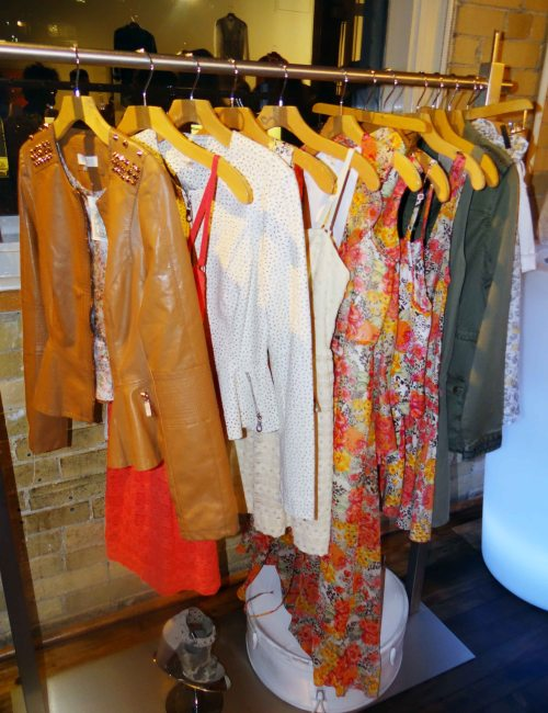 Guess_Spring_Collection_Floral_Dresses_Leather_Jacket