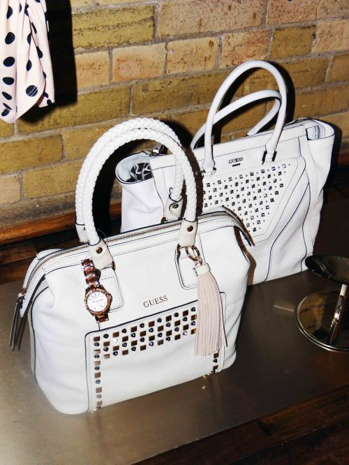 White_Handbags_Studs_Guess_Spring_Collection