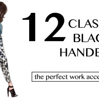 12 Classic Black Luxury Handbags: Update Your Wardrobe With The Perfect Work Accessory