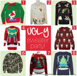 Classy Style Ugly Sweater Haute Mommy Handbook Ugly Sweater Party Prizes Ugly Sweater Party Games