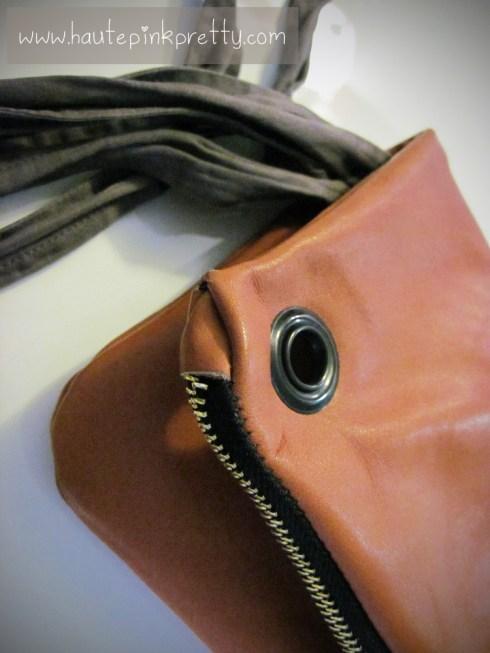 Jeffrey Lazaro Handmade Cognac Leather Bag