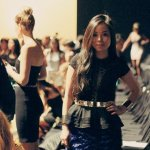 New York Fashion Week SS13 – Herve Leger Backstage & Runway Show