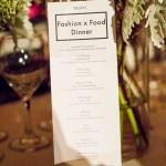 TRUFFL Fashion x Food Dinner