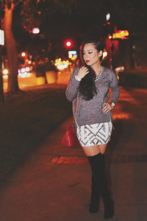 Fall Winter Street Style Date Night What To Wear Girls Night Out