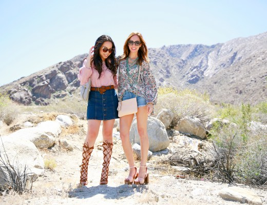 An Dyer with Sydne Summer Coachella 2016 Street Style