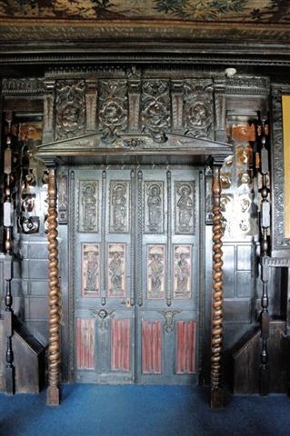 porte galerie de chene