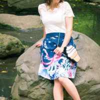 ModCloth Marine Bio Skirt