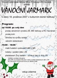 Vánoční jarmark ve Veltrusích