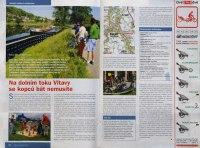 červnové vydání časopisu Cykloturistika přinesla popis dvou Havránkových tras