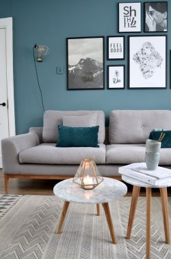 Small Of Blue Living Room