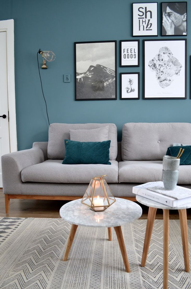 Large Of Blue Living Room
