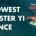 Master YiのダンスはMSで変化する!