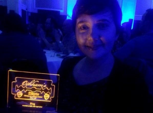 me and award