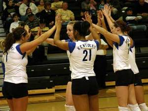 kentucky-volleyball-team