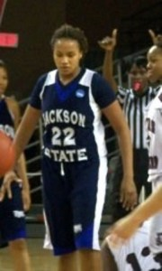 Tiffany Kellum leads the Jackson State Lady Tigers to victory (JSU Tigers)