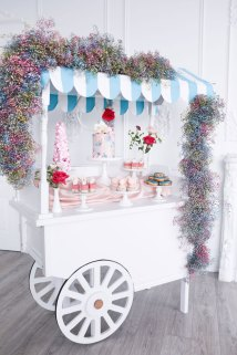Wedding Dessert Cart