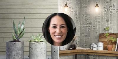 Joanna Gaines New Wallpaper - Magnolia Home Shiplap Wallpaper