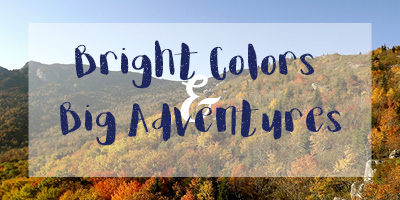 Bright Colors and Big Adventures