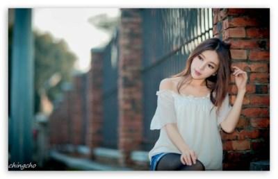 Beautiful Asian Girl 4K HD Desktop Wallpaper for 4K Ultra HD TV • Wide & Ultra Widescreen ...
