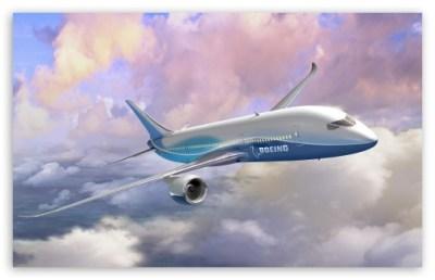 Boeing 787 Dreamliner 4K HD Desktop Wallpaper for 4K Ultra HD TV • Tablet • Smartphone • Mobile ...