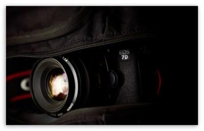 Canon EOS 7D Camera 4K HD Desktop Wallpaper for 4K Ultra HD TV • Tablet • Smartphone • Mobile ...