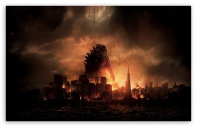 Godzilla 4K HD Desktop Wallpaper for 4K Ultra HD TV • Wide & Ultra Widescreen Displays • Dual ...