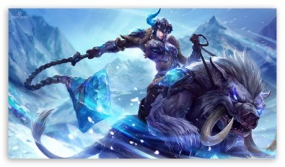 League Of Legends Sejuani 4K HD Desktop Wallpaper for 4K Ultra HD TV • Tablet • Smartphone ...