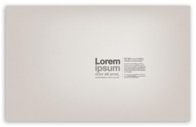 Lorem Ipsum Text 4K HD Desktop Wallpaper for 4K Ultra HD TV • Dual Monitor Desktops • Tablet ...