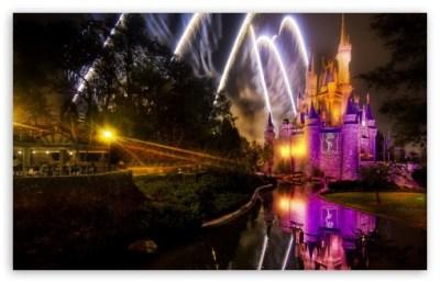 Magical Disney Fireworks Show 4K HD Desktop Wallpaper for ...