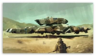 Military Airship Art 4K HD Desktop Wallpaper for 4K Ultra HD TV • Wide & Ultra Widescreen ...