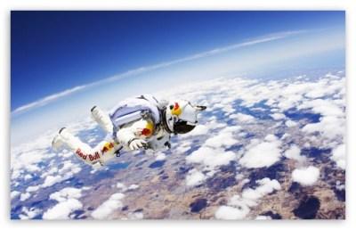 Red Bull Skydiver 4K HD Desktop Wallpaper for 4K Ultra HD TV • Wide & Ultra Widescreen Displays ...