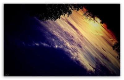 Sunset Upside Down 4K HD Desktop Wallpaper for 4K Ultra HD TV • Wide & Ultra Widescreen Displays ...
