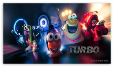 Turbo 2013 4K HD Desktop Wallpaper for 4K Ultra HD TV