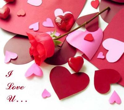 i love u heart wallpaper image download hd free - HD Wallpaper