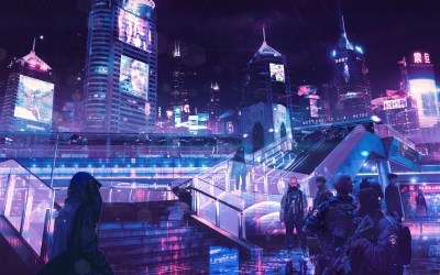 1680x1050 Cyberpunk Neon City 1680x1050 Resolution HD 4k Wallpapers, Images, Backgrounds, Photos ...