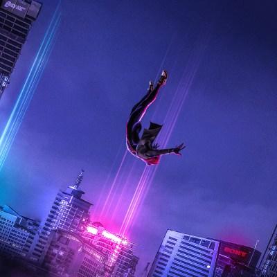 2048x2048 SpiderMan Into The Spider Verse Art Ipad Air HD ...