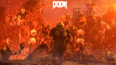 2560x1440 Doom 4 Digital Art 1440P Resolution HD 4k Wallpapers, Images, Backgrounds, Photos and ...