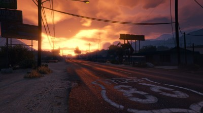 1366x768 GTA 5 Sunset 1366x768 Resolution HD 4k Wallpapers, Images, Backgrounds, Photos and Pictures