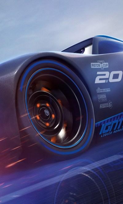 1280x2120 Lightning McQueen Vs Jackson Storm Cars 3 4K iPhone 6+ HD 4k Wallpapers, Images ...