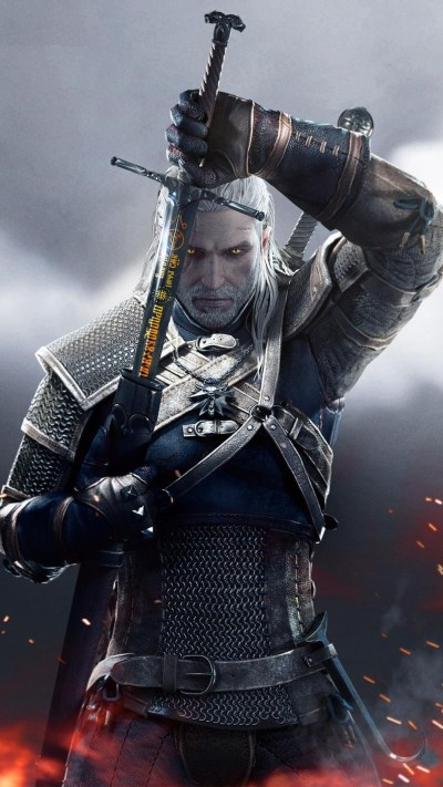 1080x1920 The Witcher 3 Wild Hunt Sword Of Destiny Iphone 7,6s,6 Plus, Pixel xl ,One Plus 3,3t,5 ...