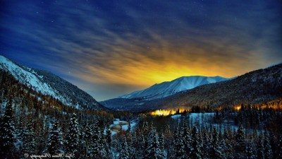 Alaska Winter Nights, HD Nature, 4k Wallpapers, Images, Backgrounds, Photos and Pictures