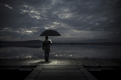 Alone man With Umbrella, HD Love, 4k Wallpapers, Images, Backgrounds, Photos and Pictures