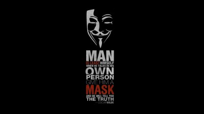 Anonymus Hacker Quote, HD Computer, 4k Wallpapers, Images, Backgrounds, Photos and Pictures