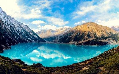 Big Almaty Lake, HD Nature, 4k Wallpapers, Images ...