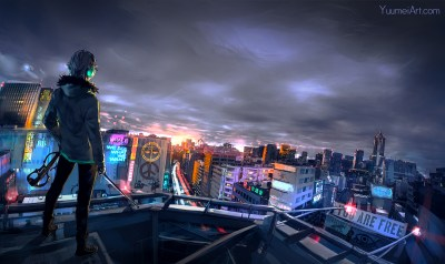 Cyberpunk Cityscape, HD Artist, 4k Wallpapers, Images, Backgrounds, Photos and Pictures