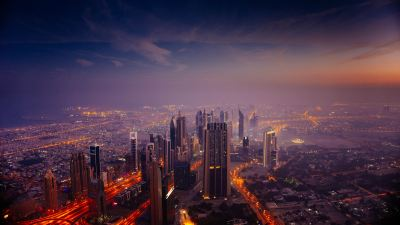 Dubai Sunrise City 5k, HD World, 4k Wallpapers, Images, Backgrounds, Photos and Pictures