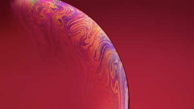 3840x2160 IPhone Xs Double Bubble Red 4k HD 4k Wallpapers, Images, Backgrounds, Photos and Pictures